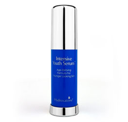 Intensive Youth Serum contains a unique blend of ingredients derived from the ocean to visibly reduce the appearance of sun damage and photoaging.