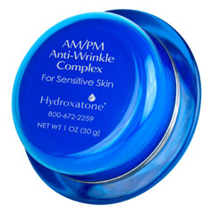 Hydroxatone® AM/PM Anti-Wrinkle Complex for Sensitive Skin reduces the appearance of wrinkles and is formulated for sensitive skin