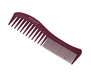 The Keranique® Anti-breakage Detangling Comb will separate and detangle hair allowing you to brush and style with ease, creating a smooth finish on your hair.